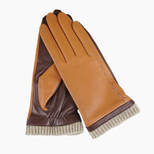 Load image into Gallery viewer, brown leather gloves