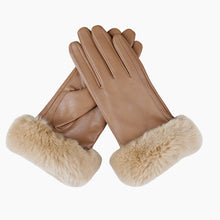 Load image into Gallery viewer, leather winter gloves