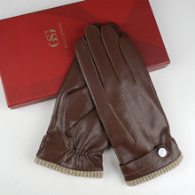 Load image into Gallery viewer, GSG leather gloves for men