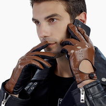 Load image into Gallery viewer, GSG mens leather gloves