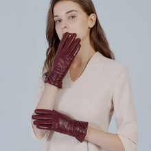 Load image into Gallery viewer, best women leather gloves