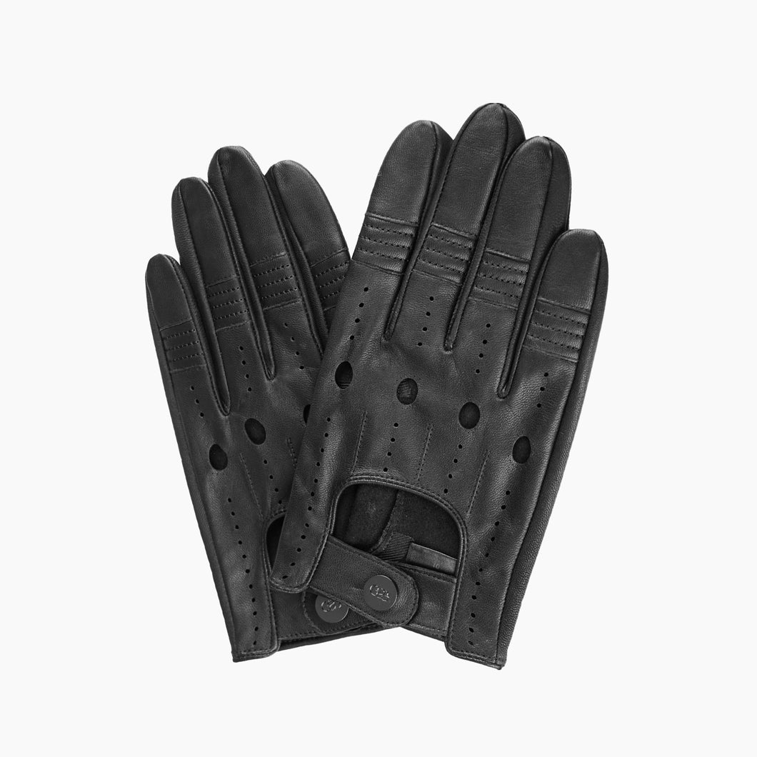 mens leather driving gloves