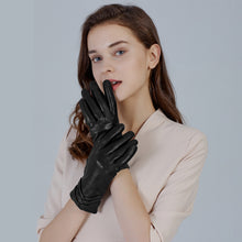 Load image into Gallery viewer, fashion leather gloves