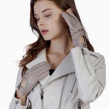 Load image into Gallery viewer, leather fashion gloves