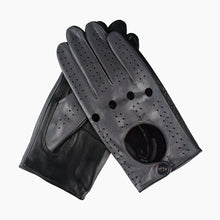 Load image into Gallery viewer, grey leather gloves
