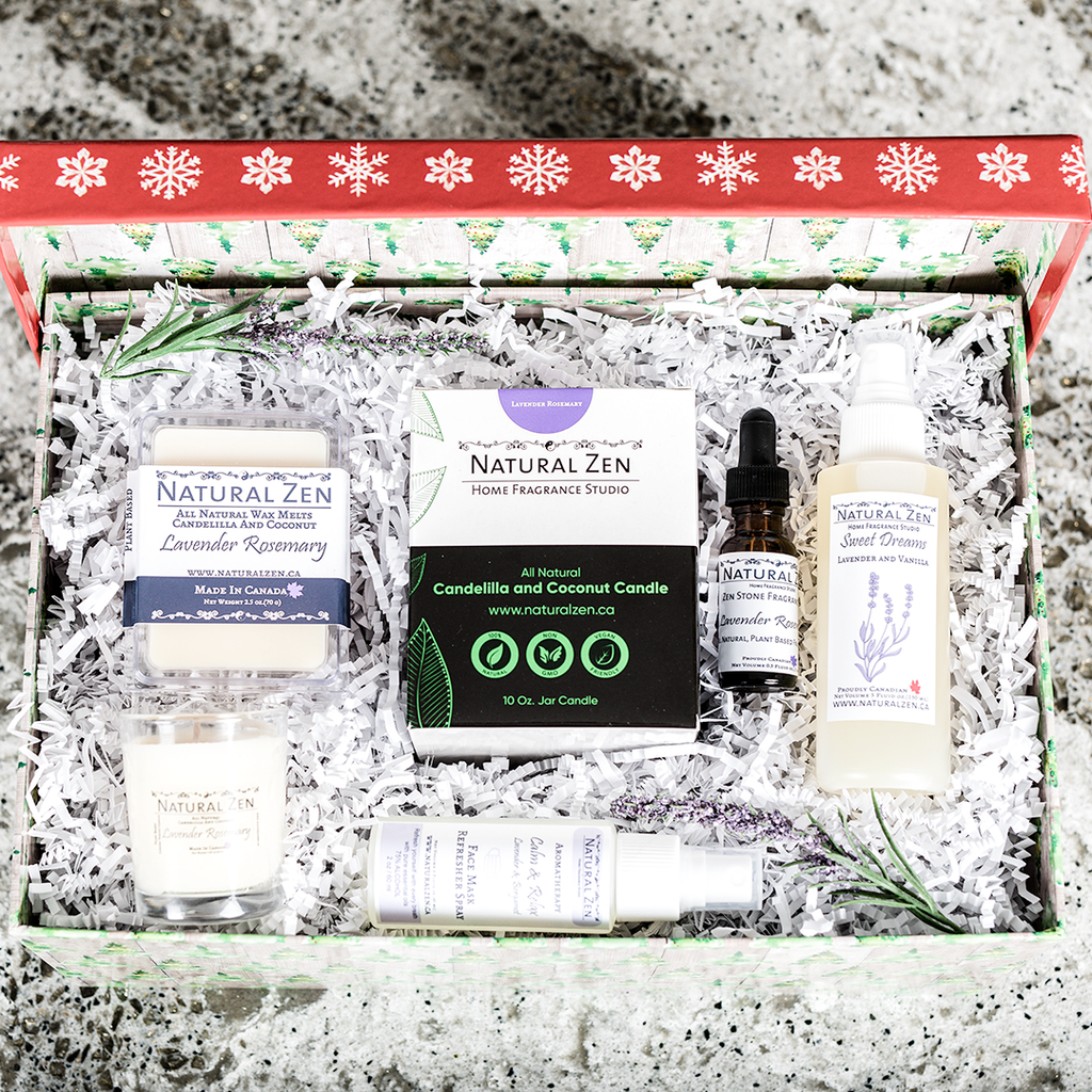 Give the gift of all natural products from Natural Zen Home Fragrance Studio