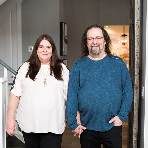 Brett and Carmel and founders and artisans behind Natural Zen