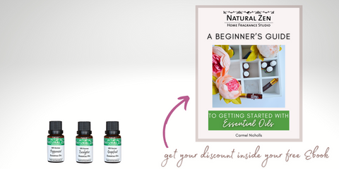 A Beginner's Guide to Getting Started with Essential oils from Natural Zen