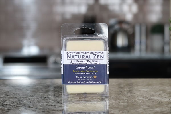 Sandalwood Black Label Collection - Luxury Wax Melt - Natural Zen Home Fragrance Studio