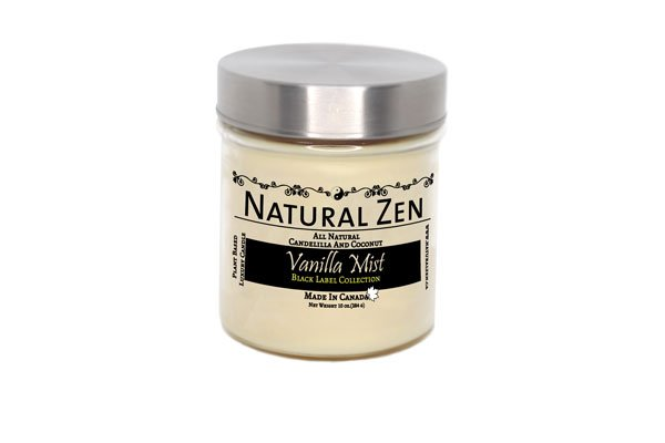 Vanilla Mist Luxury Scented Jar Candle