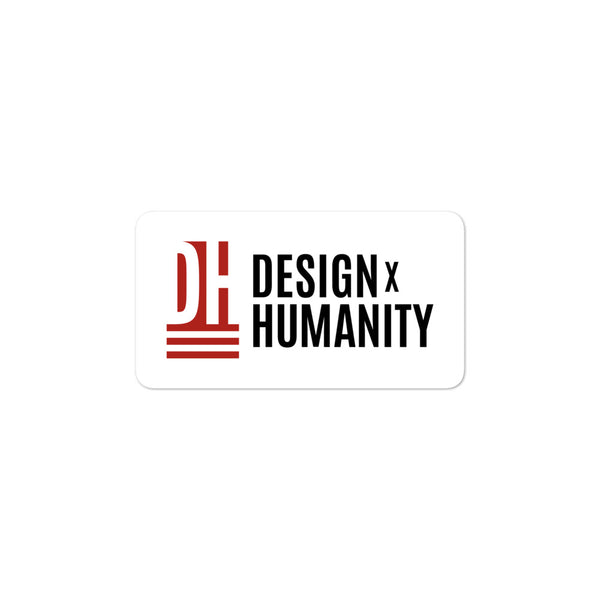 DesignxHumanity Sticker