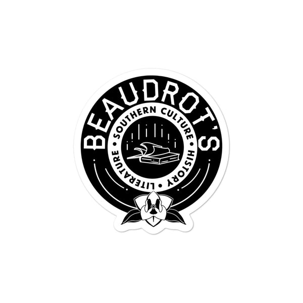 Beaudrot's Original Sticker