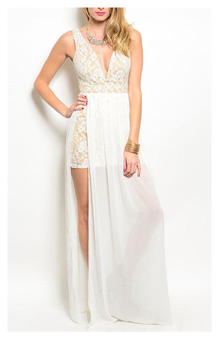 White Gown Dress