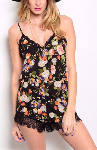 Flower Power Romper