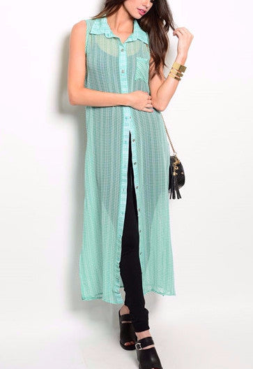 Chiffon Maxi Throw On