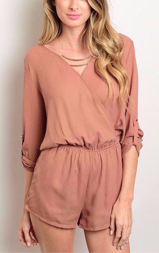 Gathered Romper