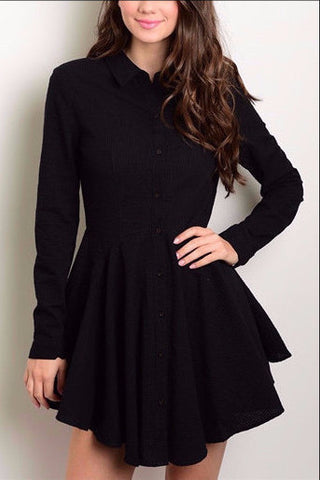 Boyfriend Shirt Dress 1