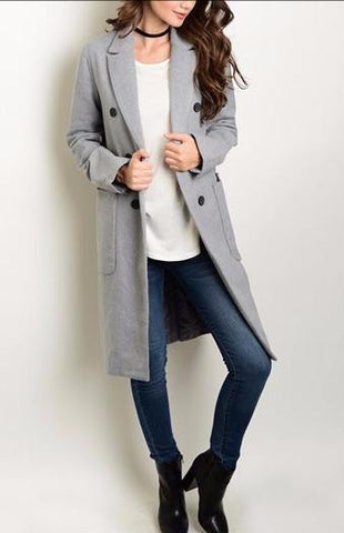 Collared Winter Coat