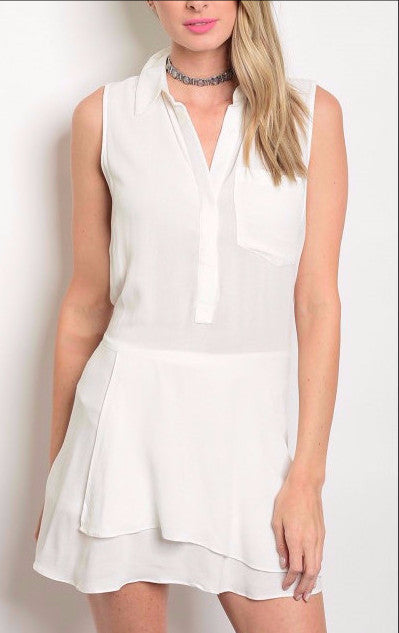 White Affair Dress