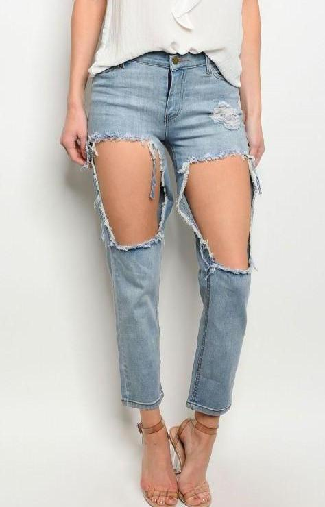 In a Hole Jeans