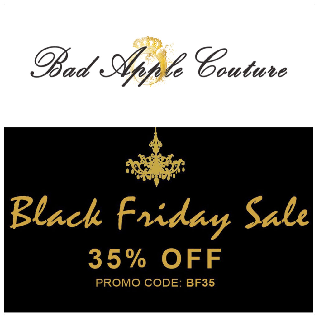 RULE 1. SHOP & Get 35% OFF - CODE BF35 #BlackFridaySale