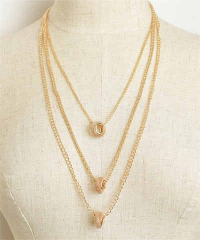 Chain Drop-Necklace