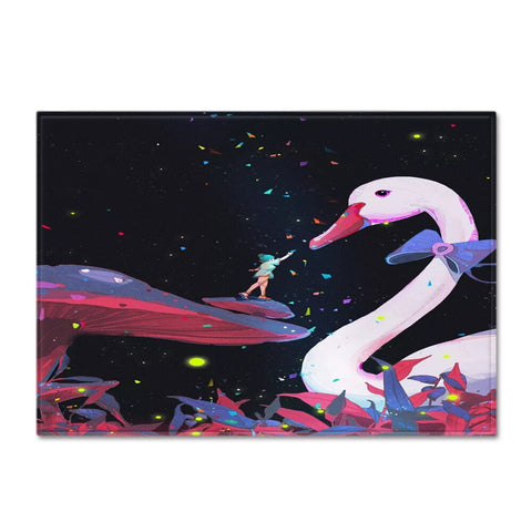 Tapis Cygne <br> Science Fiction