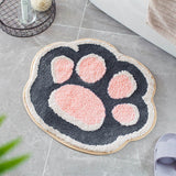 Tapis de Bain Chat Multicolore