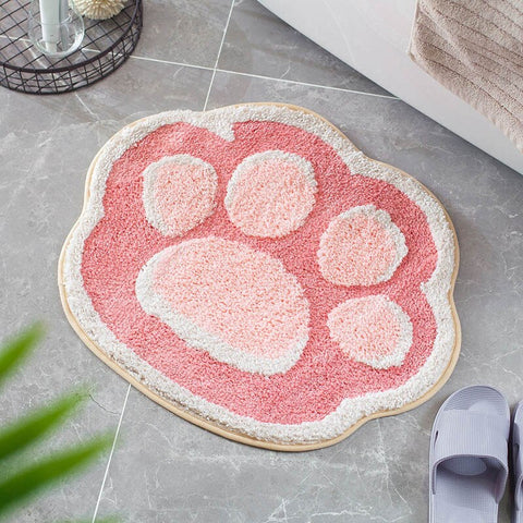 Tapis de Bain Chat Rose