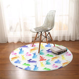 Tapis Lapin Multicolore Exemple Salon