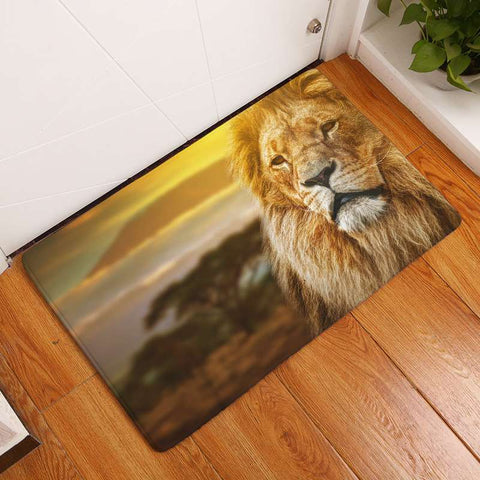 Tapis Photo Lion