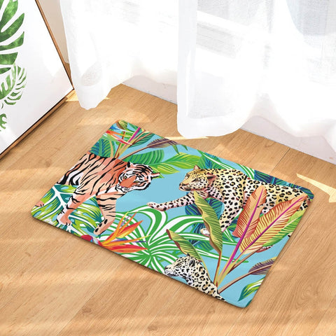 Tapis de Sol Animaux de la Jungle