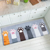 Tapis Patte de Chat Cuisine
