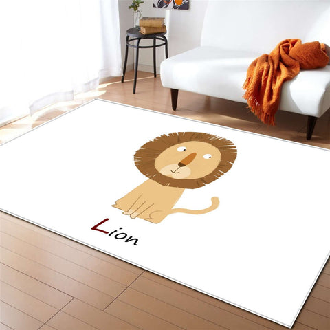 Tapis Animaux Lion