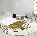 Tapis Peau de Tigre pour Salon Photo