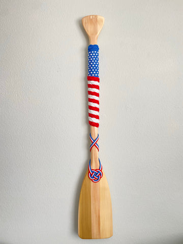 American Flag Paddle