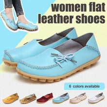 Load image into Gallery viewer, Comfortable Flat Leather Shoes