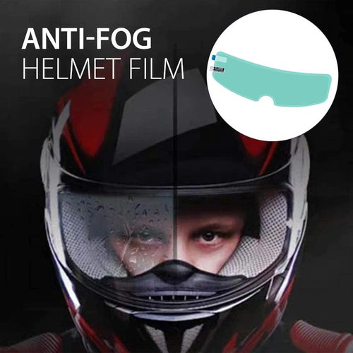 Anti-fog or rain Helmet Film