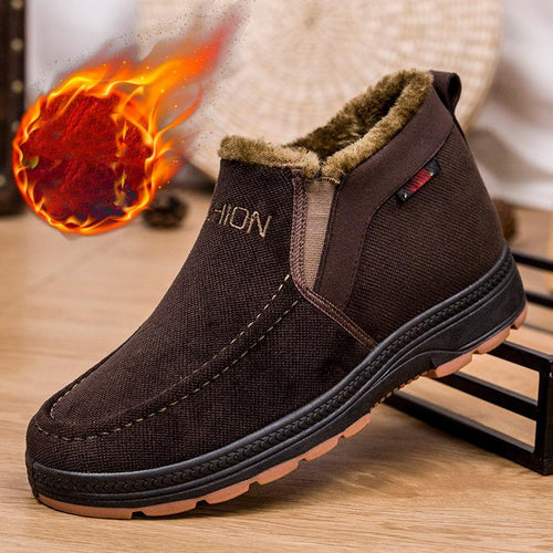 Men's Winter High-top Thermal Shoes