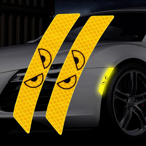 3D Car Reflective Warning Strip