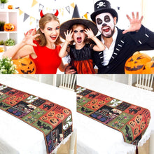 Load image into Gallery viewer, Halloween Decorative Tablecloth