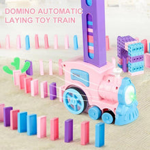 Load image into Gallery viewer, Domino Automatic Laying Toy Train