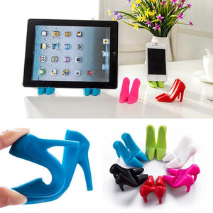 File High Heel Phone Holder