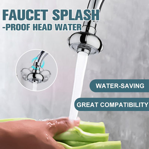 Splash-Proof Faucet Head