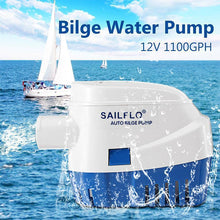 Load image into Gallery viewer, Automatic Submersible Boat Bilge Water Pump