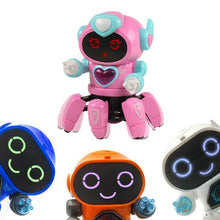 Load image into Gallery viewer, Electric Singing Dancing Lighting Robot Toy