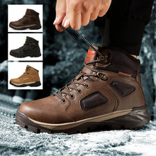 Load image into Gallery viewer, Men's High-top Hiking Shoes
