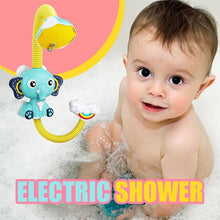 Load image into Gallery viewer, Cute Elephant Baby Bath Shower Head