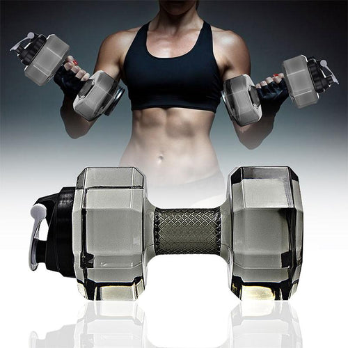 Dumbbell Shape Water Bottles