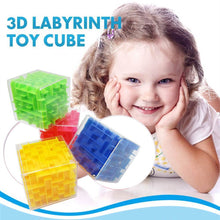 Load image into Gallery viewer, 3D Cube Puzzle Maze Toy (Random Color)